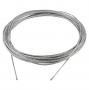 31462 Трос стальной в оплетке ПВХ диаметр 4/5 мм бухта 200 метров