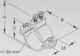 36/1 Кольцо заземления для кабеля внутренний диаметр 33.5 мм высота 73 мм ширина 80 мм сечение подсоединяемого проводника до 50 мм2