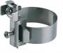 37/1 Хомут заземления ленточный с клеммой диаметр 17.5-48 мм сечение присоединяемого проводника от 1х2.5 до 2х16 мм2 длина ленты 212 мм