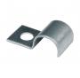 6706 Скоба металлическая оцинкованная односторонняя диаметр 6 мм