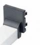 K21-14 Плата для ввода кабель-канала для настольного розеточного блока Ofiblock Plus 20х30мм, 45х45мм, цвет графит