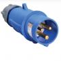 PSN01-016-3 Вилка переносная ССИ-013 16А-6ч/200-250В 2Р+РЕ степень защиты IP44 MAGNUM