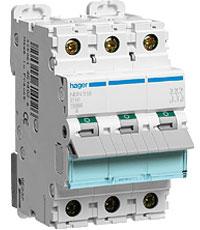 Hager (Хагер) - Модульные автоматические выключатели