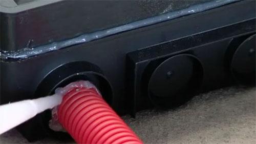 Порядок монтажа напольных лючков Kopobox в бетонный пол - Фото 7