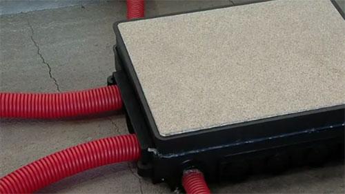 Порядок монтажа напольных лючков Kopobox в бетонный пол - Фото 8