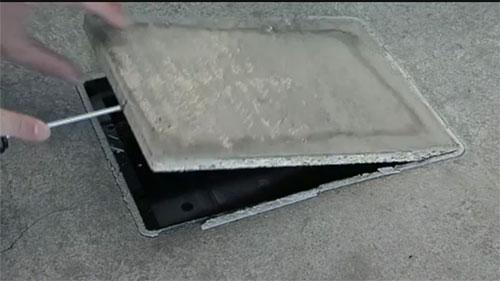 Порядок монтажа напольных лючков Kopobox в бетонный пол - Фото 11