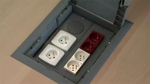 Пример монтажа напольных лючков Kopobox в фальшпол - Фото 8